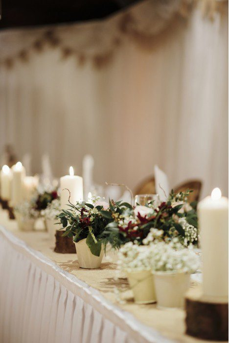 McGarry Flowers Venue styling hire