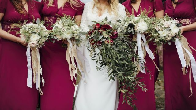 wedding flowers ni n.ireland fermanagh vintage wild look ideas trends 2016
