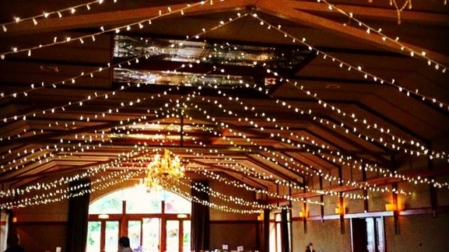 fairylight roof decor lustybeg co.fermanagh decoration wedding