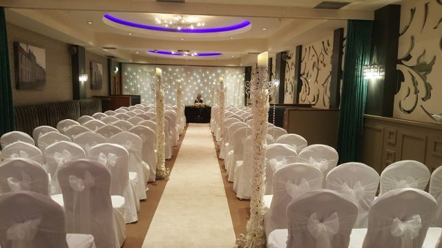 westville hotel wedding decoration