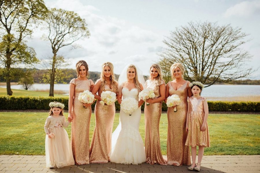 rose gold sequin dresses lough erne resort