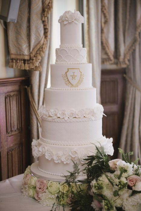 truly scrumptious wedding cake lough erne hotel detail