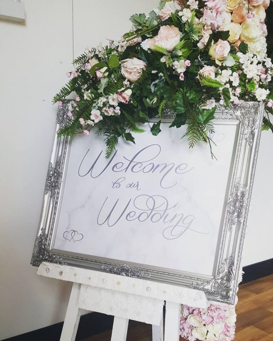 marble effect wedding sign northern ireland ideas 2018